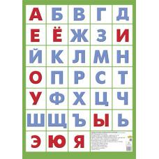 Азбука русская без картинок (малый формат)