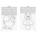 Графические диктанты (для детей 6-10 лет). Птицы