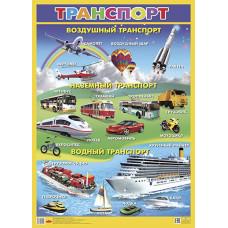 Плакат. Транспорт
