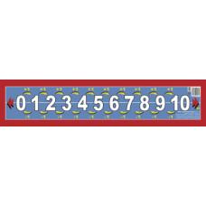Числовой ряд от 0 до 10 мини
