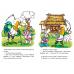 Сказки с заданиями. Лиса и заяц. Лиса и волк. Кот-воевода. Пузырь, соломинка и лапоть (для детей 3-6 лет)